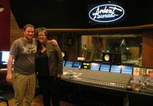 Ardent Studio's Curry Weber & Nancy Beaudette in Studio C